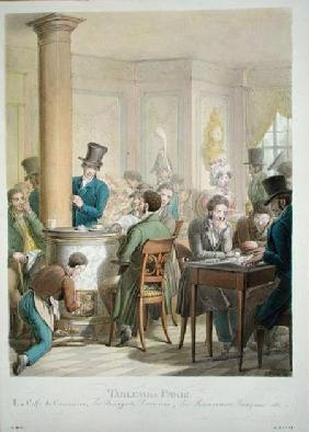 The Cafe de Commerce, from 'Tableau de Paris'  on