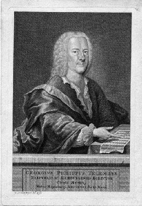 Portrait of Georg Philipp Telemann (1681-1767)