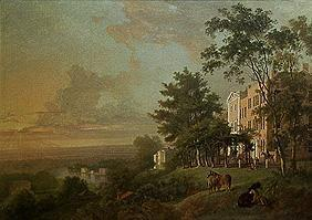 Look of the terrace of Richmond Hill /ausgeführt m.William S.Gilpin