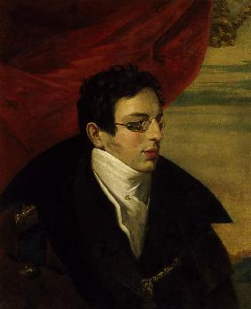 Portrait of the Poet Nikolai Gnedich (1784-1833)