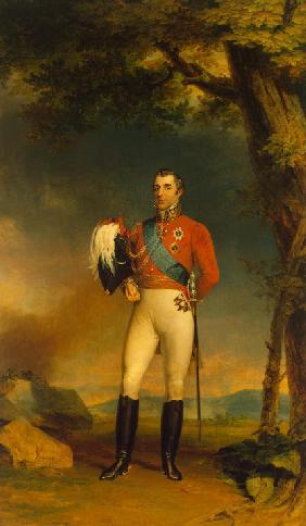 Portrait of Field Marshal Arthur Wellesley, 1st Duke of Wellington (1769-1852)