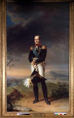 Portrait of Field marshal Count Mikhail Barklay-de-Tolli (1761-1818)