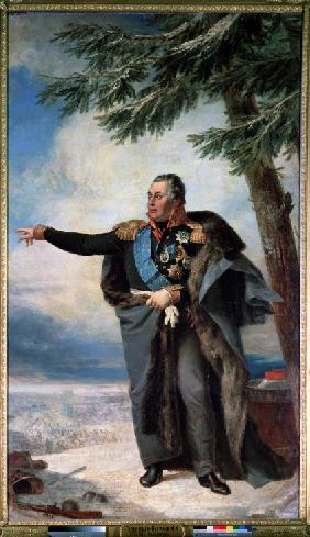 Portrait of Field Marshal Prince Mikhail Kutuzov (1745-1813)