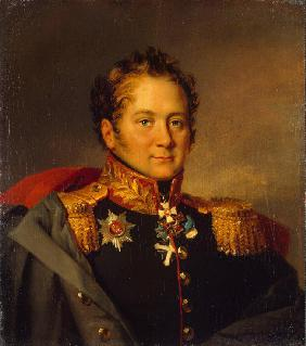 Portrait of General Alexander Alexandrovich Pisarev (1780-1848)