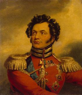 Portrait of the General Fyodor Petrovich Uvarov (1773-1824)