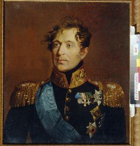 Portrait of General Count Mikhail Miloradovich (1771-1825)