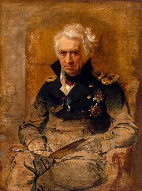 Portrait of the writer and admiral Alexander Semyonovich Shishkov (1754-1841)