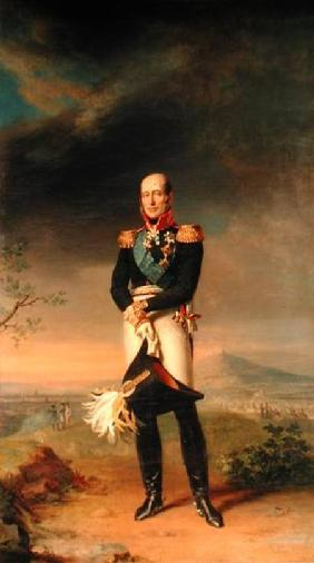 Portrait of Prince Mikhail Barclay de Tolly (1761-1818)