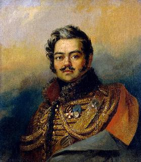 Portrait of Denis Davydov (1784-1839), soldier and poet