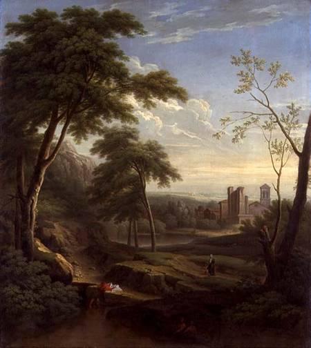 Classical Landscape, George Lambert, 1745 | Tate