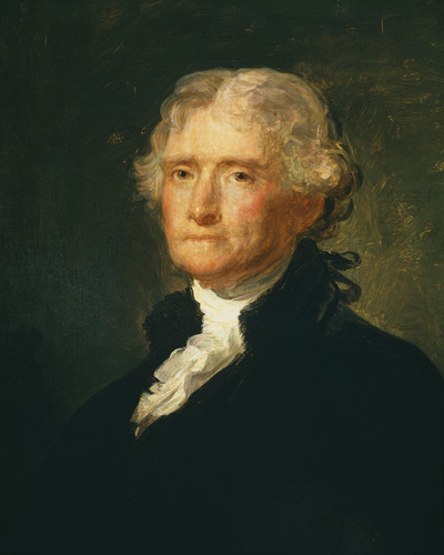 a biography of thomas jefferson the third president of united states of america John adams, and thomas jefferson discussing a draft of the biography of john adams united states vice president of the united states of america.