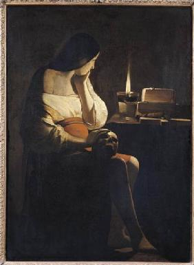 Mary Magdalene with a Night-light, or The Terff Magdalene