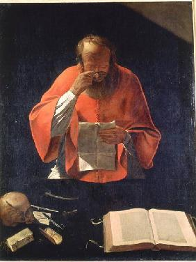 St.Jerome reading