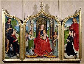 The Triptych of the Sedano Family, c.1495-98