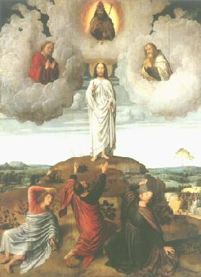 Transfiguration Jesu (middle panel of a Tryptichons)