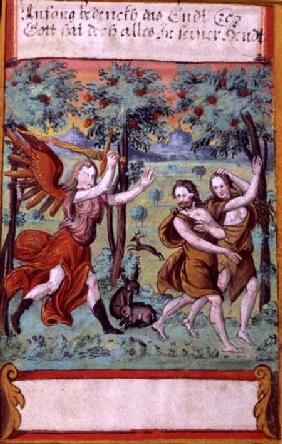 Adam and Eve Expelled from the Garden of Eden