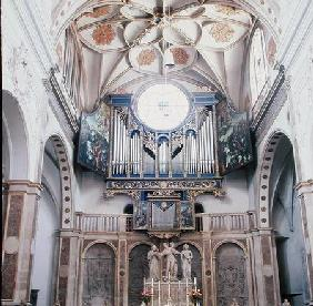 Organ in the church of St. Anna