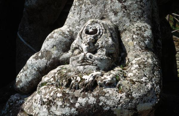 The Slain Woodcutter, from the Parco dei Mostri (Monster Park), designed