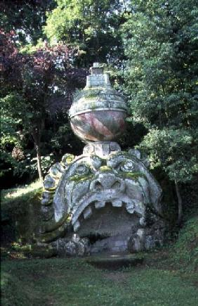 The Mouth of Hell, from the 'Parco dei Mostri' (Monster Park) gardens laid out between 1550-63 for D