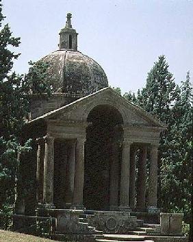 Tempietto, from the Parco dei Mostri (Monster Park) gardens laid out between 1550-63 by the Duke of