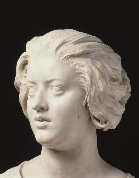 Costanza Bonarelli, detail of a sculptur - Gianlorenzo