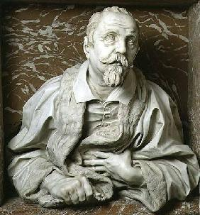 Bust of Gabrielle Fonseca (doctor of Pope Innocent X) from the Fonseca Chapel