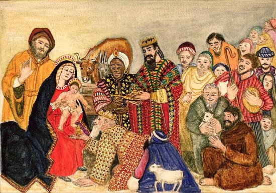 Nativity Scene Painting | New Calendar Template Site