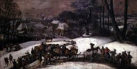 A Military Expedition in Winter