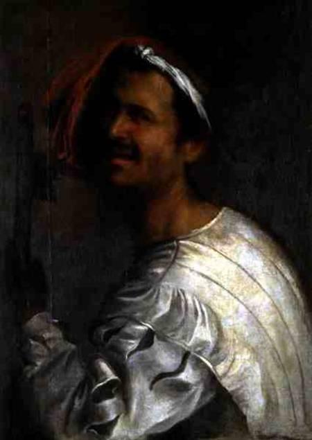 singer with his flute giorgione eigentl giorgio ba as