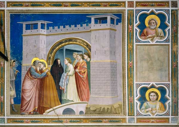 Meeting at the Golden Gate / Giotto - Artist Artist as art ...  Meeting at the ...