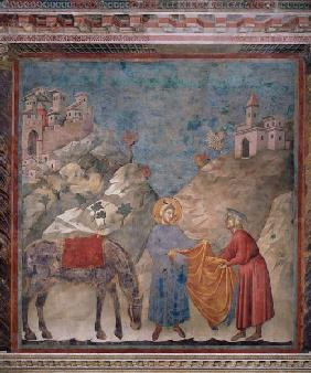 St. Francis Gives his Coat to a Stranger