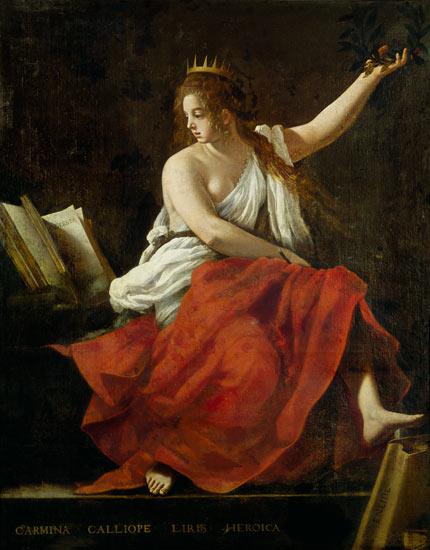 Calíope, la solicitada musa de la elocuencia y la poesía épica