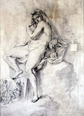 Female Personification of Sculpture