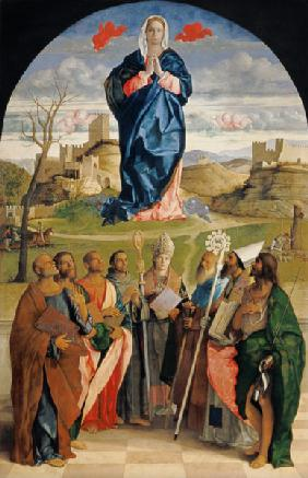 Giov.Bellini / Mary in Glory w.Saints