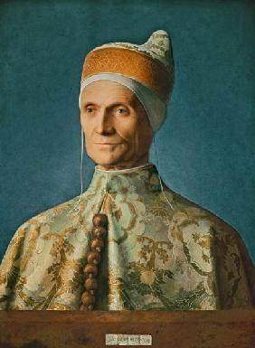 The doge Leonardo Loredan