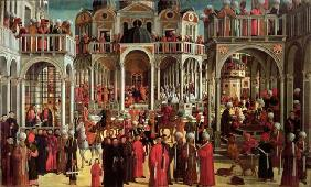 Episodes from the Life of Saint Mark, c.1525 (oil on canvas)