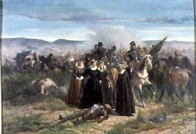 Mary Stuart at the Battle of Langside