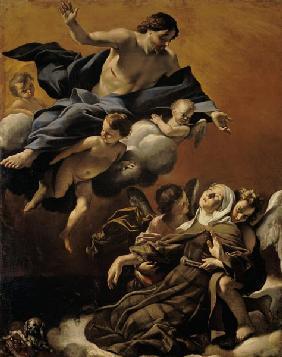 The Ecstasy of St. Margaret of Cortona
