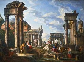 Roman Ruins with a Prophet