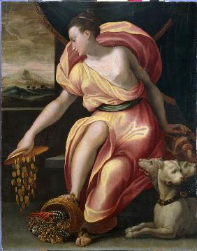 Allegory of wealth