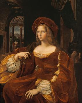 Portrait of Jeanne of Aragon (c.1500-77) wife of Ascannio Colonna, Viceroy of Naples