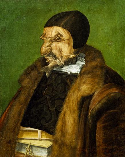 The Jurist Giuseppe Arcimboldo As Art Print Or Hand