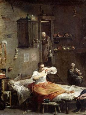 The Woman with the Flea