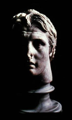Alexander the Great (356-323 BC), found in Pergamum