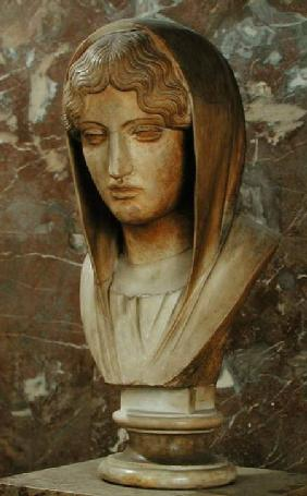 Head of a woman known as Aspasia of Miletos