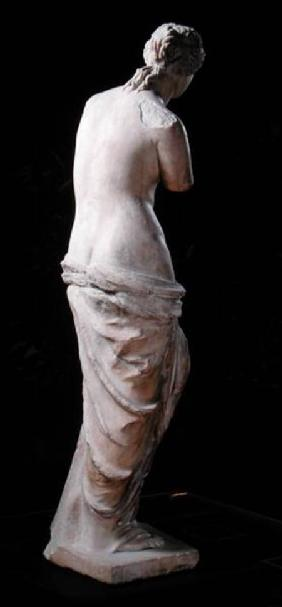 Rear view of Aphrodite, the 'Venus de Milo', Hellenistic period