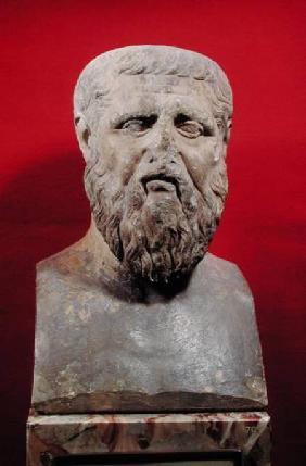 Bust of Plato (c.427-347 BC) copy of a 4th century BC original