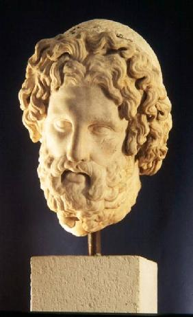 Colossal head of Asklepios