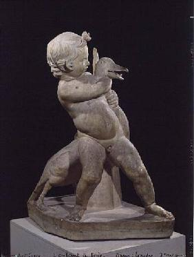 The Goose child, replica of an Hellenistic original attributed to Boethos (3rd BC)