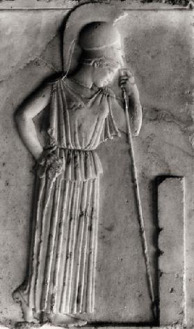Relief of the Mourning Athena